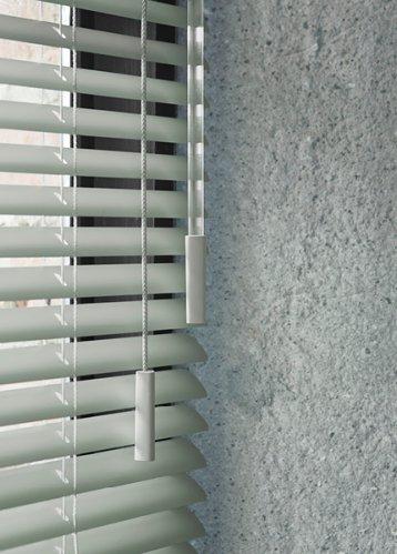 bece® horizontale jaloezie aluminium kleurnr. 15594 25 mm detail